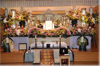 平群野菊の里斎場139祭壇