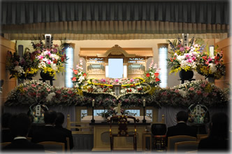 平群野菊の里斎場169祭壇